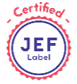 logo jef label
